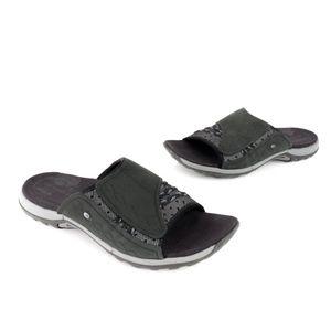 Merrell Fusion Lillyfern Slide Sandal Black Size 8